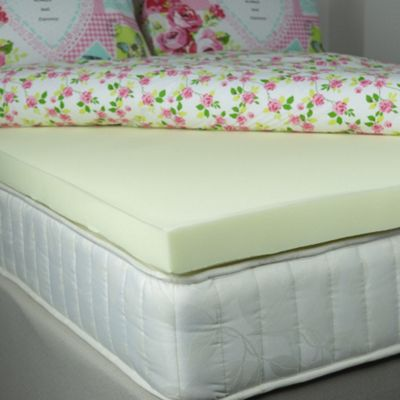 Vasco Luxury 3 inch Memory foam Medium Support Mattress Topper - Double