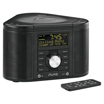 Pure Chronos CD Series II DAB/FM Radio, CD, Black