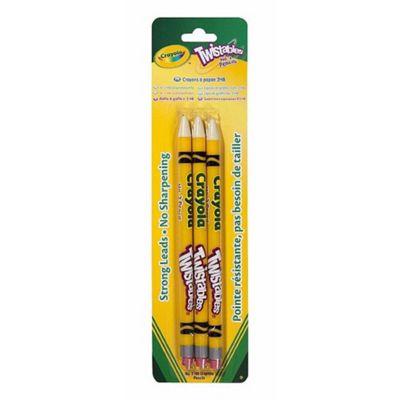 Crayola Twistable HB Pencils, 3 Pack