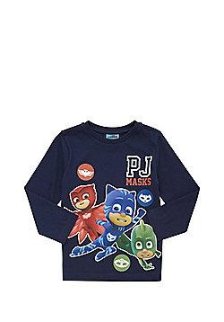 PJ Masks Long Sleeve T-Shirt - Navy