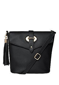 F&F Flap-Over Bucket Bag