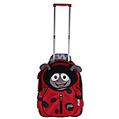 Polka Ladybird Soft Trolley Case