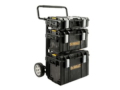 DeWalt TOUGHSYSTEM 4 In 1 Trolley & 3 DS Toolboxes