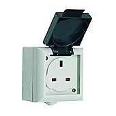 13A IP54 Rated Single Outdoor Socket