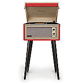 Crosley Bermuda Dansette Turntable Red
