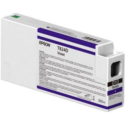 Epson Singlepack Violet T824D00 UltraChrome HDX 350ml C13T824D00