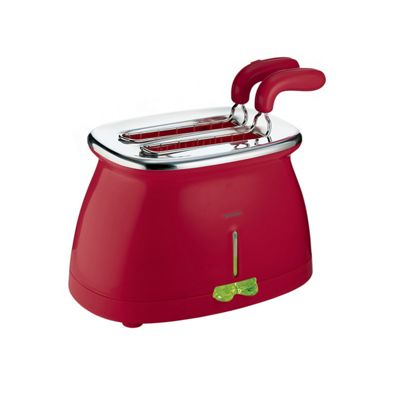 Guzzini G-Plus red toaster