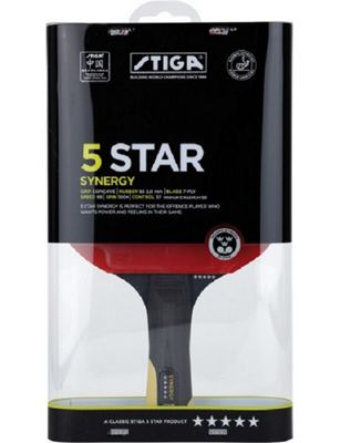 Stiga 5-star Synergy Table Tennis Bat