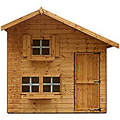 8 x 6 Sutton Cottage Playhouse - Double Storey (8ft x 6ft) - Fast Delivery - Pick A Day