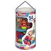 Bristle Blocks 54 Piece Jungle Tube