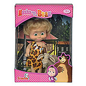 Masha and The Bear 12cm Doll with Goat Figure