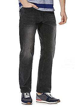 F&F Stretch Straight Leg Jeans - Grey