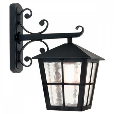 Black Hereford Grande Wall Up Lantern - 1 x 100W E27