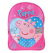 Love Heart Peppa Pig Backpack