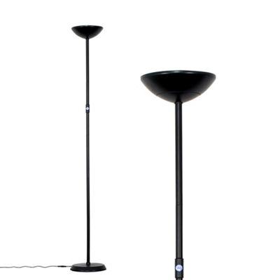 Cassey 175cm LED Floor Lamp - Black