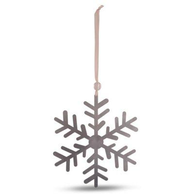 Small Metal Snowflake Tree Decoration Design A