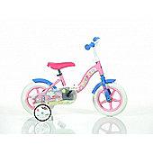 Peppa Pig 10inch Balance Bike Pink - DINO Bikes