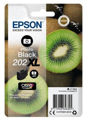 Epson 202XL 7.9ml 800pages Photo black ink cartridge 800 pages