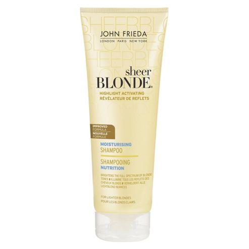 John Frieda Sheer Blonde Moisturising Shampoo for Lighter Blonde 250ml