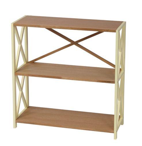 Wilkinson Furniture Cubic Small Bookcase - Buttermilk