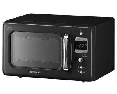Daewoo KOR7LBKB Microwave Oven - Black