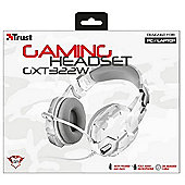 Trust GXT 322W Binaural Head-band White headset