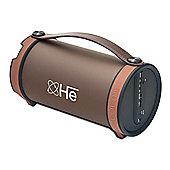 Sound Tube Portable Speaker (Brown)