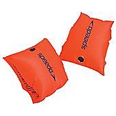 Speedo Sea Squad Kids Baby Swimming Pool Armbands Orange - 0-2 Years