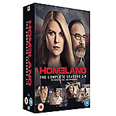 Homeland: Season 1-4 [DVD]
