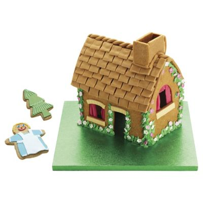 KitchenCraft Sweetly Does It Gingerbread House Cookie Cutter Set