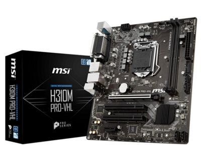 MSI H310M PRO-VHL Motherboard