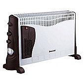Sentik 2000W Convector Heater With Thermostat, Turbo, 24hr Timer & 3 Heat Settings