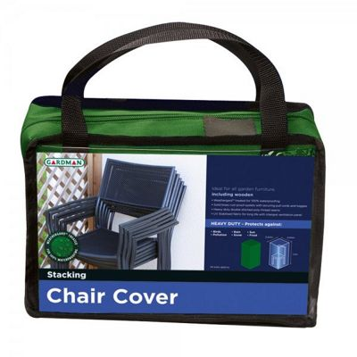 Stacking Chair Premium Furniture Cover (Green)