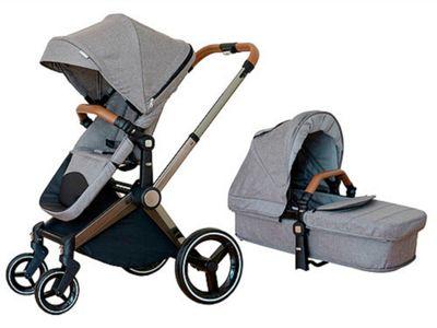 Mee-Go Venice Child Kangaroo Isofix Travel System - Granite