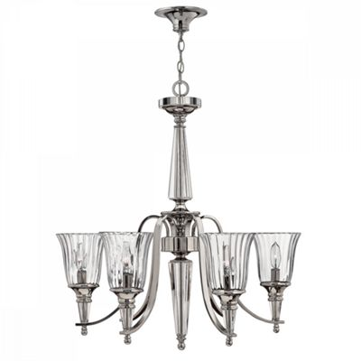 Sterling 6lt Chandelier - 6 x 60W E14