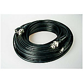 Sentient CCTV BNC and Power Cable 15m