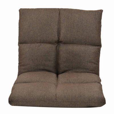 Loaf Padded Floor Chair Brown