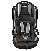 Cozy 'n' Safe Fuji High Back Booster Car Seat with harness Group 1-2-3, Black & Grey