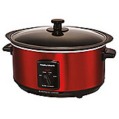 Morphy Richards 48702 3.5L Slow Cooker - Red