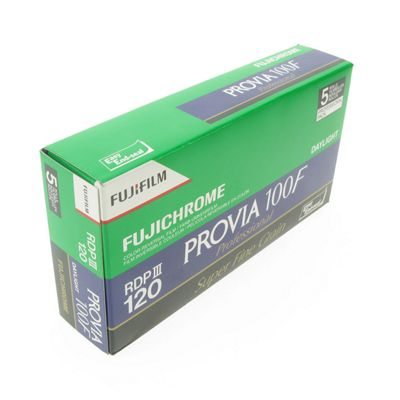 FUJI Professional Reversal Film - Provia 400H RDP III 120 - 5pk