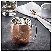 Fox & Ivy Copper Moscow Mule Mug