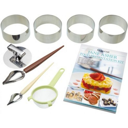Sweetly Does It Jane Asher 9 Piece Round Food Presentation Kit