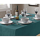 Select Square Tablecloth 90cm - Teal