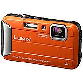 "Panasonic Lumix DMC-FT30 Compact camera 16.1MP 1/2.33"" CCD 4608 x"