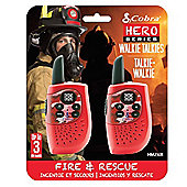 Cobra Hero Fire 3km 2-Way PMR Radio 2 Pack