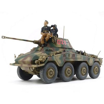 Tamiya 37018 German Heavy Armored Car Sd.Kfz.234/2 Puma 1:35 Military Model Kit