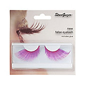 Stargazer False Feather Eyelashes No.57 Extra Long pink and Purple