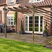 Lean to Garden Pergola 3.6m x 3.6m