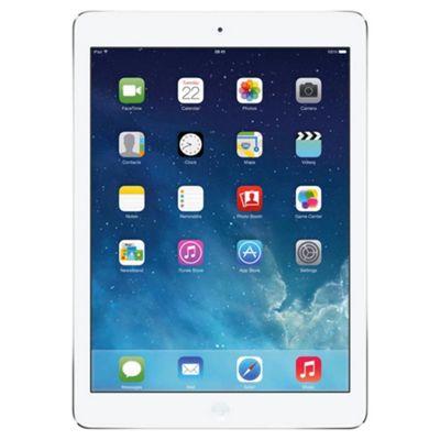 Apple iPad Air, 128GB, WiFi & 4G LTE (Cellular) - Silver