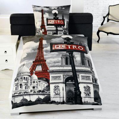 Paris Single Duvet Cover And Pillowcase Set